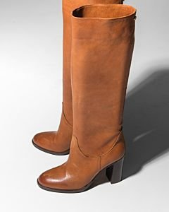 Heeled-tall-shaft-boot-Cognac
