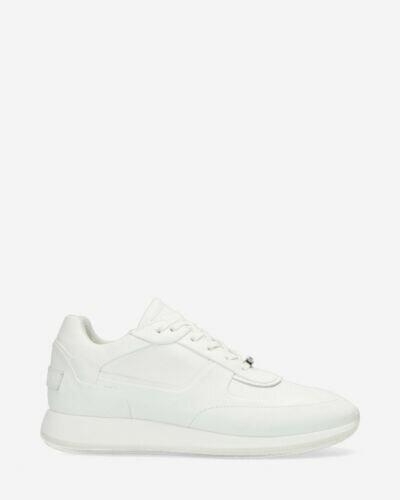 Sneaker smooth leather white