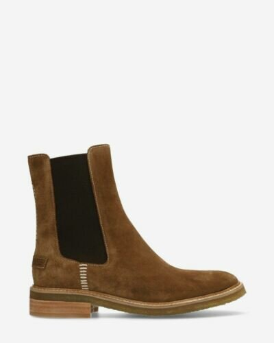 Chelsea boot suede brown
