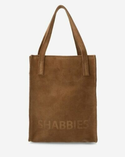 Small shopper suede brown