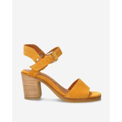 Yellow-suede-strappy-sandal