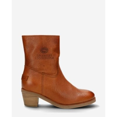 Heeled-ankle-boot-grain-leather-cognac