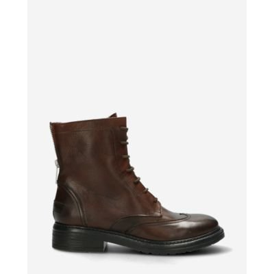 Biker-boot-smooth-leather-dark-brown