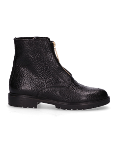 ANKLE-BOOT-WITH-ZIPPER-ON-FRONT-3-CM-HEAVY-GRAIN-L-Black