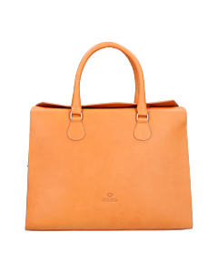 Workingbag-smooth-leather-cognac