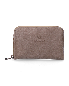 Wallet-small-hand-buffed-leather-Taupe