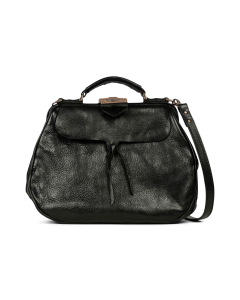 Shoulderbag-vegetable-tanned-leather-black