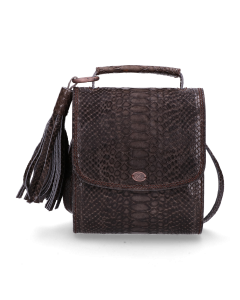 Cross-body-gemustertes-Leder-Anthrazit