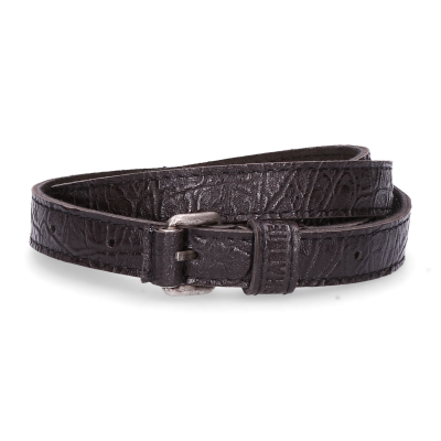Belt-printed-leather-Black-